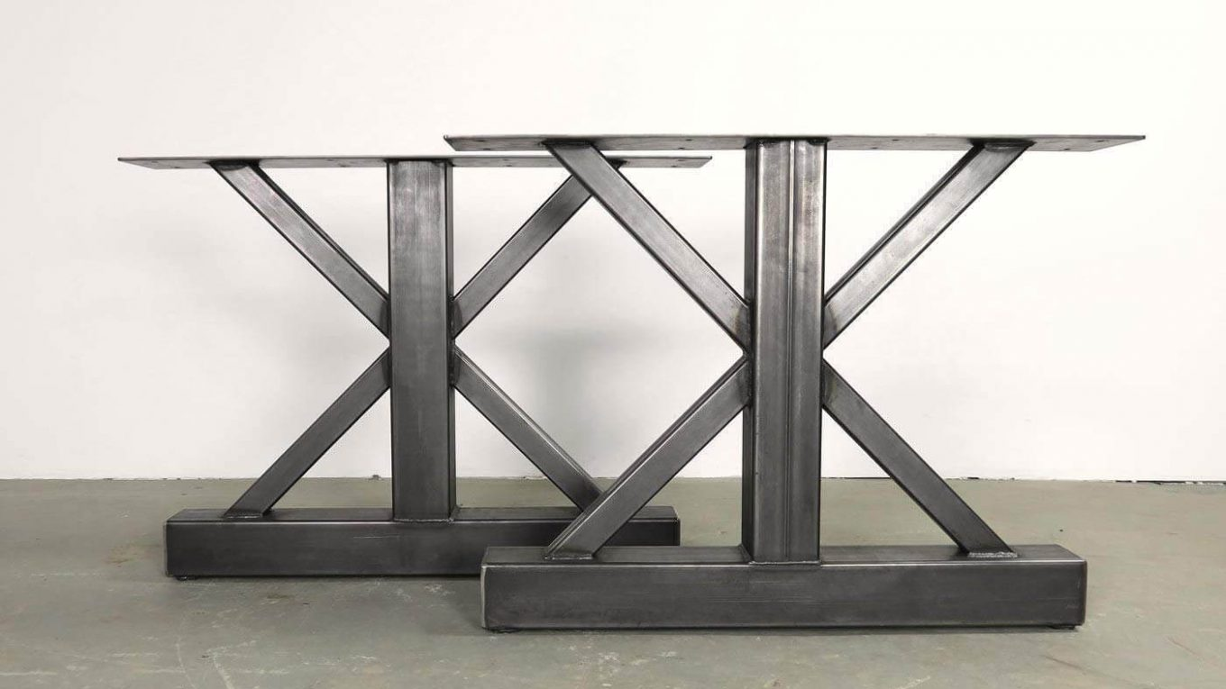 modern metal table legs