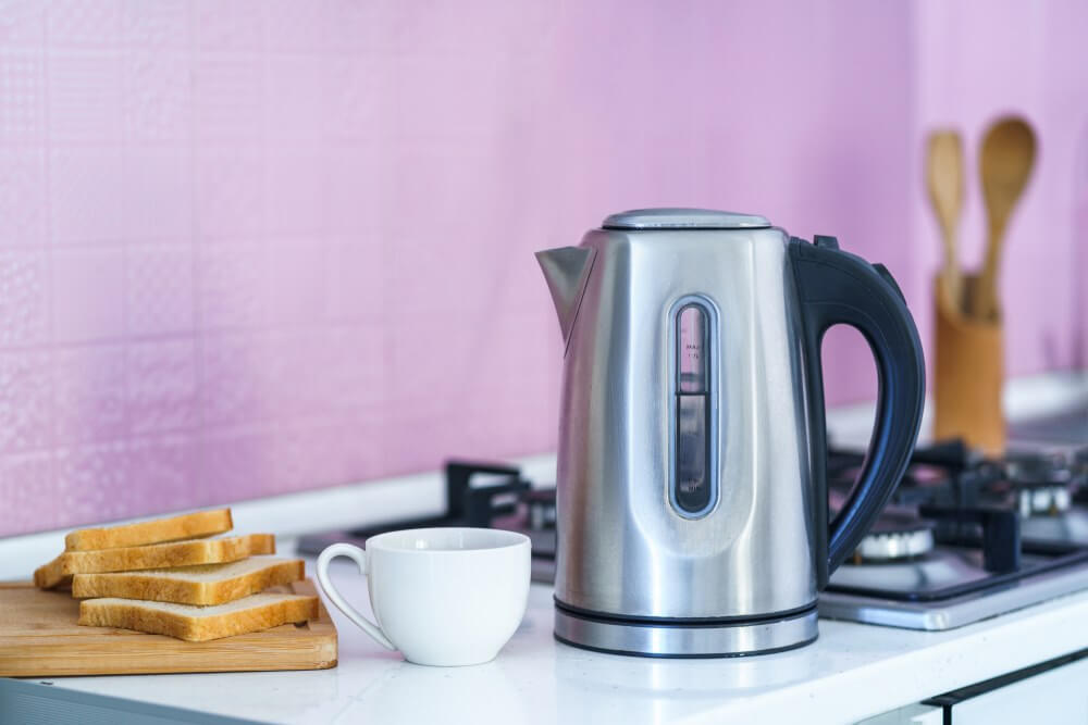 Electric kettle with temperature control